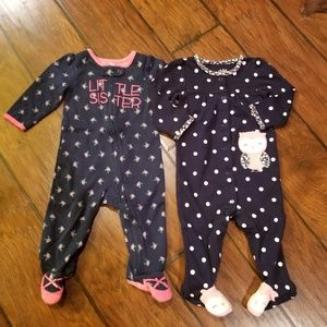 Carter's infant sleepers